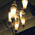 14-foot chandeliers hand-made by Mexican artisans