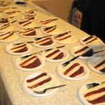 The Cheesecake Factory restaurant, red velvet cheesecake