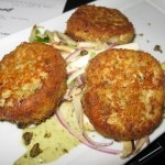 Crabcakes from BOA Steakhouse