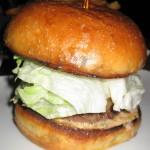"""""""Juicy Blucy"""" burger"""