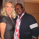 Sophie Gayot, American Idol judge Randy Jackson