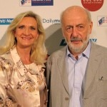 Oscar-winner writer-director Bertrand Blier with Sophie Gayot