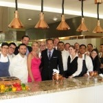 The team from Scarpetta in the kitchen