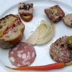 Mozza restaurant charcuterie plate