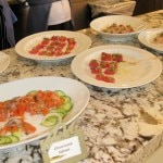 The crudo station