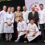 The chefs who participated in the 4th Annual Gala of Flavors with Honorary Chair Sophie Gayot