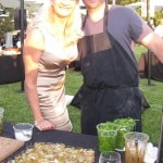 Brendan Collins of Waterloo & City with Sophie Gayot