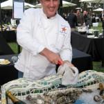Christophe Happillon preparing oysters