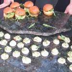 Merguez sliders, cucumber hummus - Literati Bar & Grill West LA
