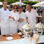 Suzanne Tracht, Preech Narkthong (right) & team - Jar restaurant Los Angeles