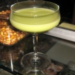 The avocado project: 5 Island white rum, fresh avocado, ascorbic acid, fresh lime juice and agave nectar