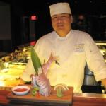 Sushi chef Kitt Xaiyashiha