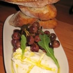 Fresh local burrata: organic extra virgin olive oil and sea salt