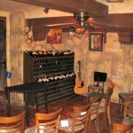 The wine cellar where David Minkin performs