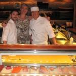 Chefs Greg Fortunato and Kitt Xaiyashiha with Sophie Gayot