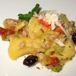 Rigatoni: pork sausage sauce, fennel seed, olive, Tuscan pecorino