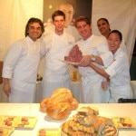 The team of Daniel Boulud