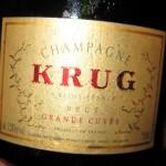 Champagne Krug Brut Grande Cuvée