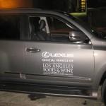 Lexus, official sponsor