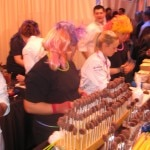 Sherry Yard's stand (WP, executive pastry chef)