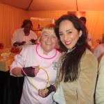 Two sweet ladies: Sherry Yard & Hasty Torres