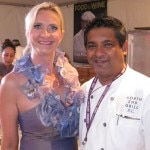 Floyd Cardoz (North End Grill) with Sophie Gayot