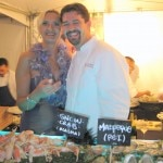 Rory Herrmann (Bouchon Beverly Hills) with Sophie Gayot