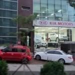 A Kia Motors dealership in Seoul, South Korea