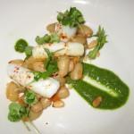 Pan-roasted baby squid