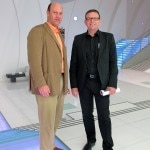 Kia Motors Chief Design Officer Peter Schreyer with Alain Gayot