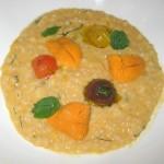 Sea urchin, cous cous and lemon