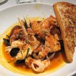 Il Cioppino dei Paparazzi: seafood in a fennel-pomodoro broth