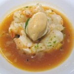 Caribbean Spiny Lobster with Dixie butter beans, Nantes carrots and almond husk infusion