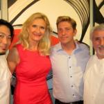 Evan Gotanda, Sophie Gayot, James Lukanik, Celestino Drago