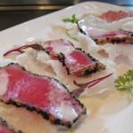 Sesame ahi crisp