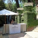 Arriving at the Houdini Estate for the Mt. Brave Extreme Wine Launch and Barbecue