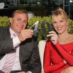 CEO John Jordan and Juliet Huddy of Fox News Network