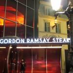 Gordon Ramsay Steak entrance