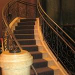 Gordon Ramsay Steak staircase