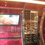 Gordon Ramsay Steak wine cellar