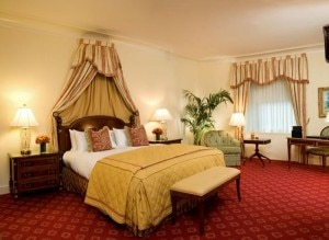 A room at The Waldorf=Astoria in New York City