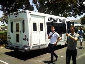 Brewery Tours of San Diego minibus