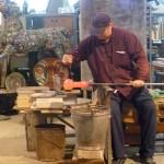 Murano glassblowing