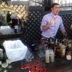 Jared Schubert describing his cocktails