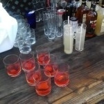 The mixologists' table