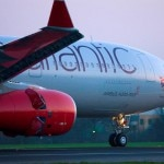 Virgin Atlantic A330 on the runway