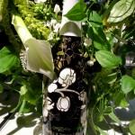 Champagne Perrier-Jouët 2004 Belle Époque Florale Edition with one of Makoto Azuma's floral arrangements