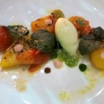 Heirloom tomato and confit