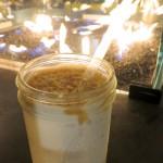 Vanilla base salted caramel Snickerdoodle shake