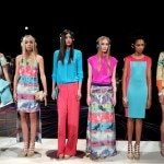Models show off Walter Baker's W118 collection during New York Fashion Week